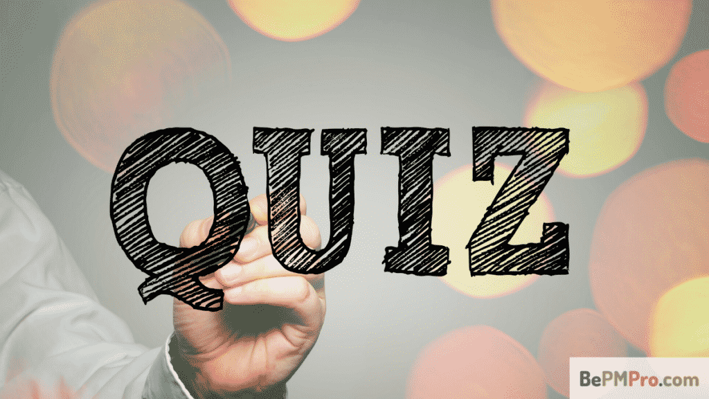 Project Management Quiz