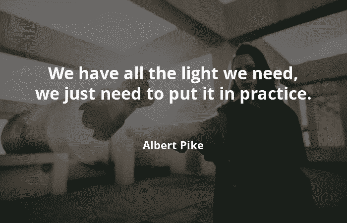 We have all the light we need, we just need to put it in practice -Motivational Quotes - Motivational Quotes – aPz85D75L8zuVJIpb9Fb
