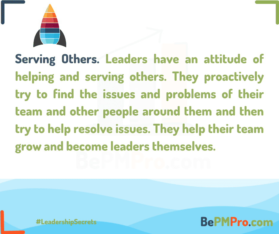 Leaders help their teams grow and become leaders themselves. – S3IeITNhgziM1eezSBcy